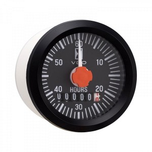 VDO HOUR METER W/POINTER