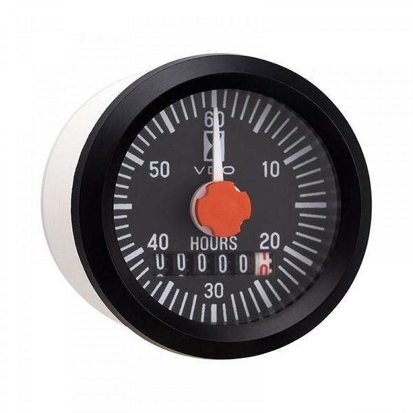 Hour Meter Operation : Vdo hour meter w pointer aeroplans blaus