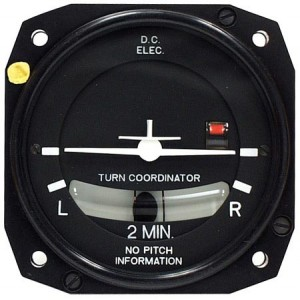 FALCON TC02E-3-2 TURN COORDINATOR