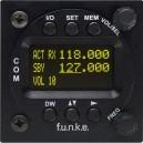 FUNKE ATR833-MkII-OLED VHF COM RADIO