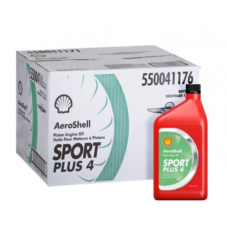 AEROSHELL Oil Sport PLUS 4 - 12L BOX