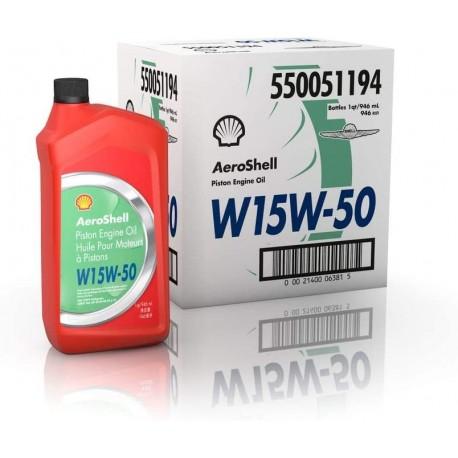 AEROSHELL OIL 15W-50 6 QT BOX