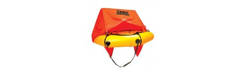 Life Vests and Rafts